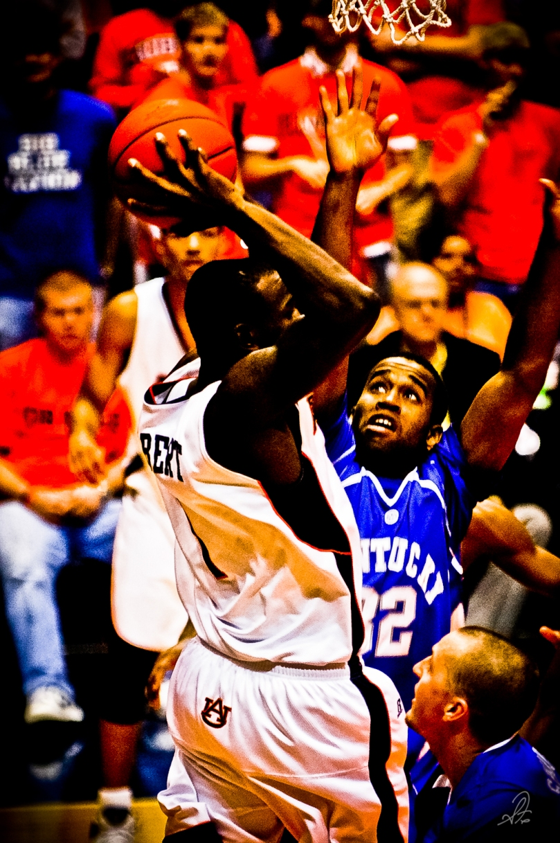 Auburn Basketball vs Kentucky