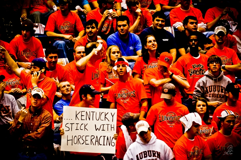 Auburn vs Kentucky Basketball