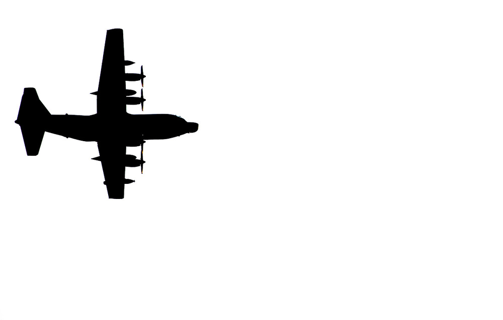 The Lockheed C 130 Hercules Flyover From Fort Benning To