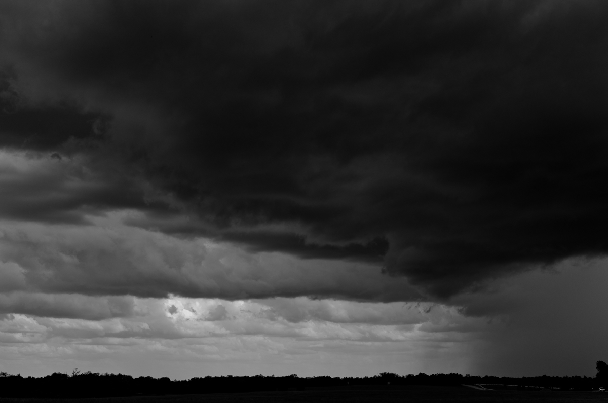Rolling Summer Thunderstorms and Dramatic Clouds in the