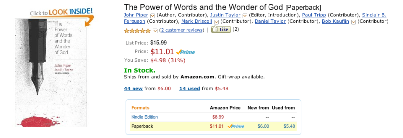 The Power of Words and the Wonder of God Review