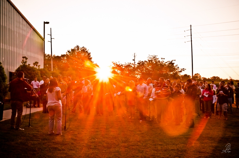 Easter Sunrise Service at Cornerstone Church