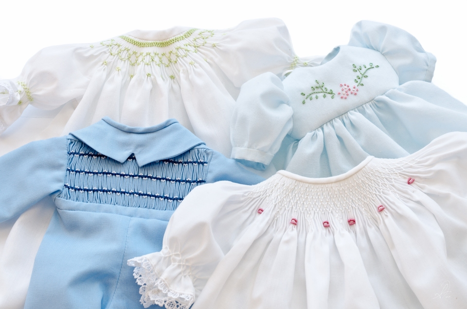 Hand Made Smocked Preemie Premature Clothes