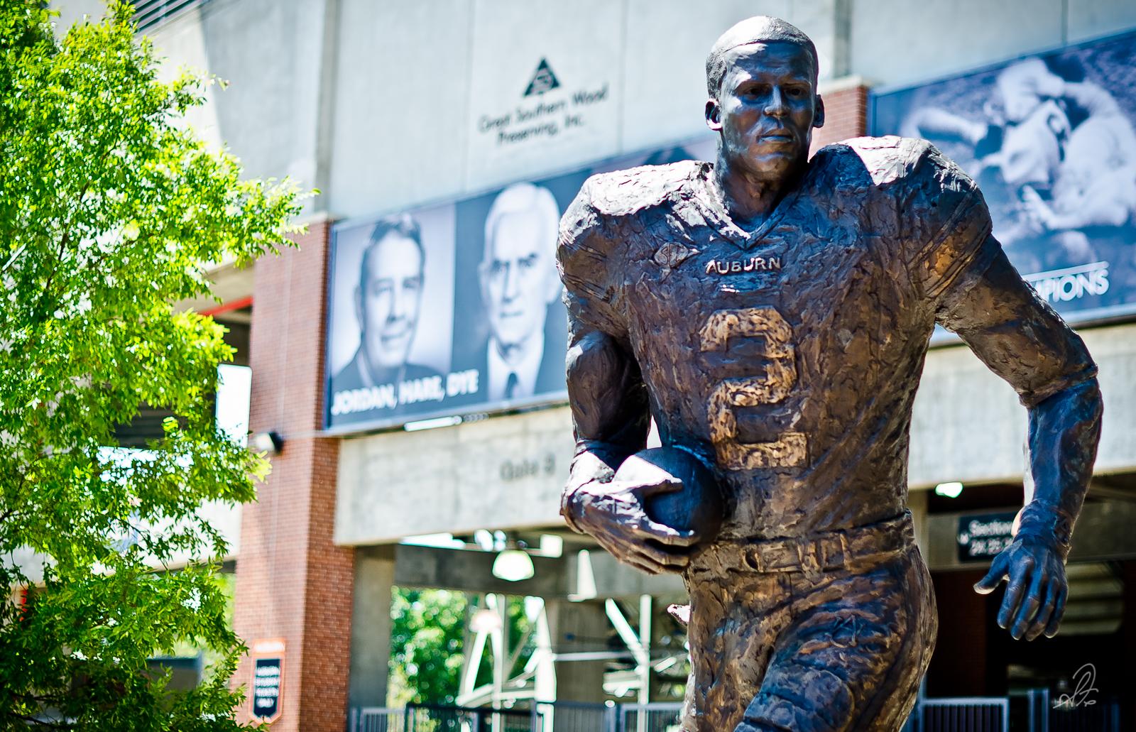 Auburn Cam Newton Heisman Trophy Winner Statue