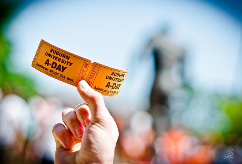 Auburn Tigers Aday Game 2012