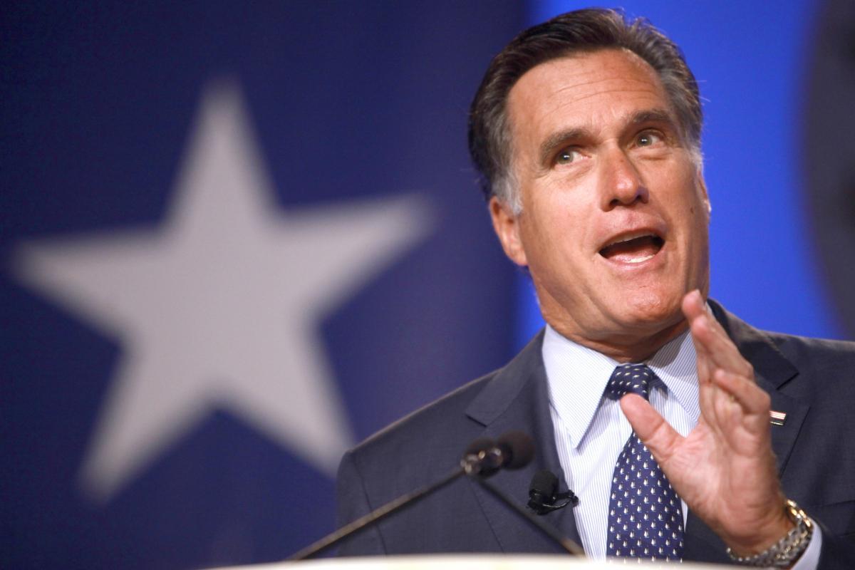 Mitt Romney at Liberty University