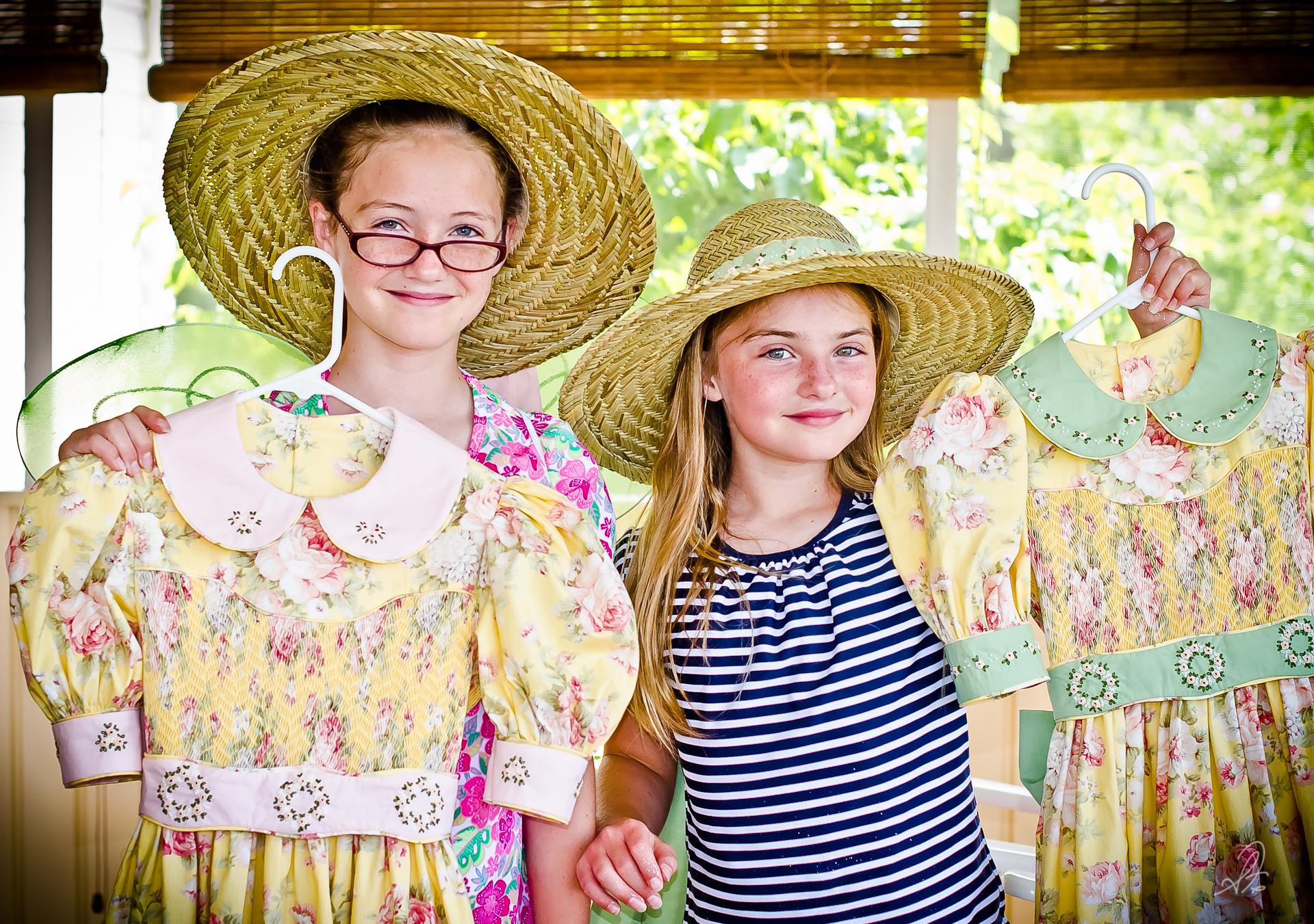 Smock Dresses For Girls