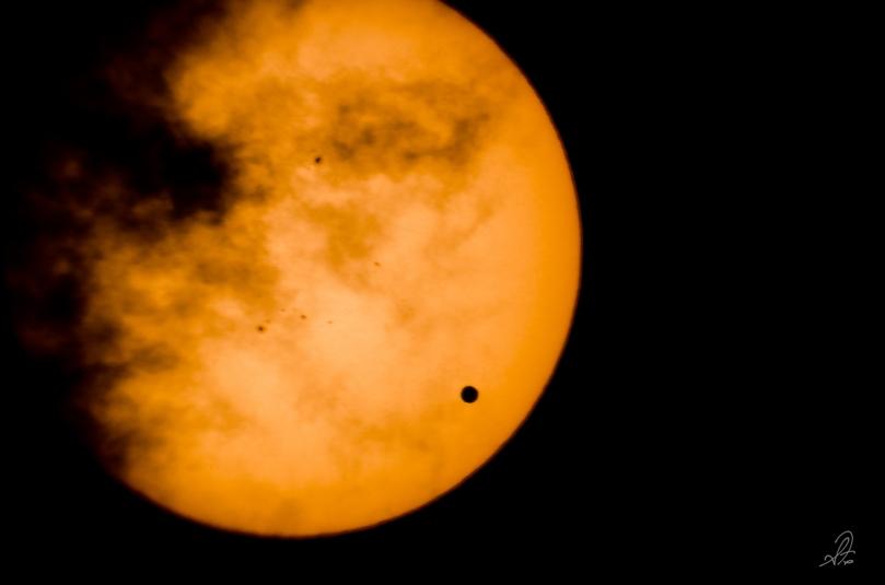 Transit of Venus Through the Telescope