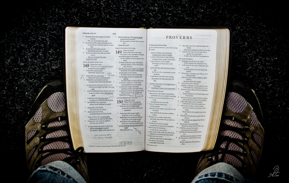 Friday Feet with the Word