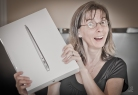 Project 365 [Day 217] Deborah Gets Her New Apple MacBook Air