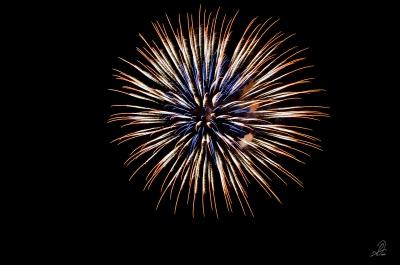 4th of July Fireworks in Auburn