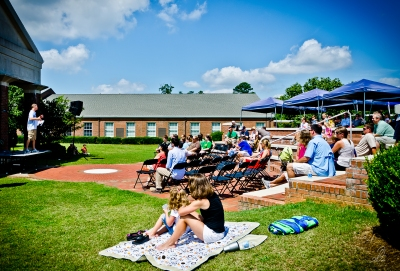 Cornerstone Church at Lee-Scott Open Air Worship Service