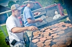 Cornerstone Church at Lee-Scott Open Air Worship Service Cookout