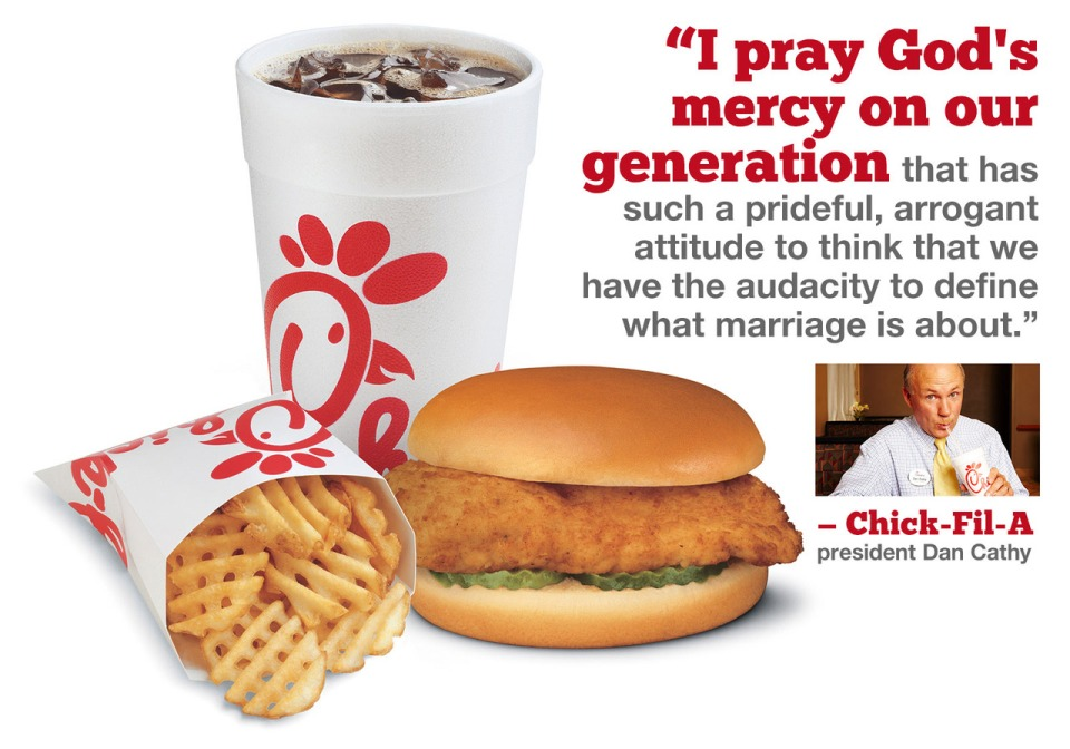 Chick-Fil-A Gay Marriage Prayer