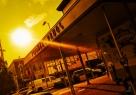 Project 365 [Day 221] Sun Setting Over Toomer's Drugs in Auburn