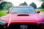 Project 365 [Day 228] Washing the Car During a Summer Rain Storm