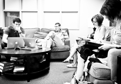 Project 365 [Day 231] Communications Meeting. The Hard Work of Serving God's Church