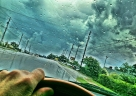 Project 365 [Day 232] Storms Blow Over Auburn on Opelika Highway