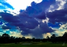 Project 365 [Day 242] Afternoon Thunderstorms Move Across the Pasture