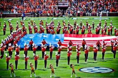 God Bless America at the Auburn Tigers Football vs ULM 2012