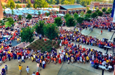 Auburn Tigers Football vs LSU 2012