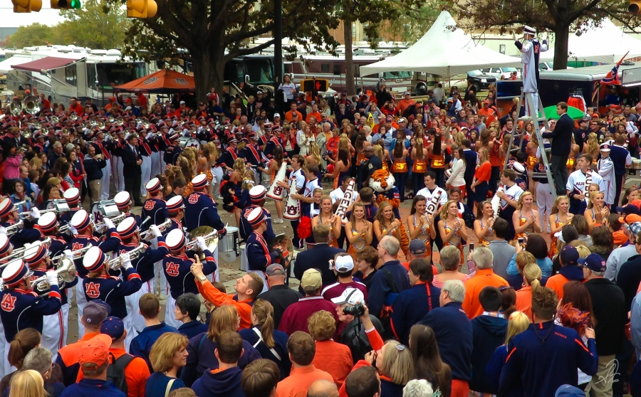 Auburn Marching Band vs Texas A&M