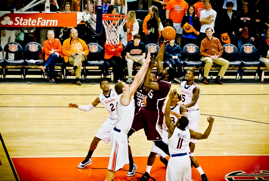 Auburn vs Texas A&M Basketball