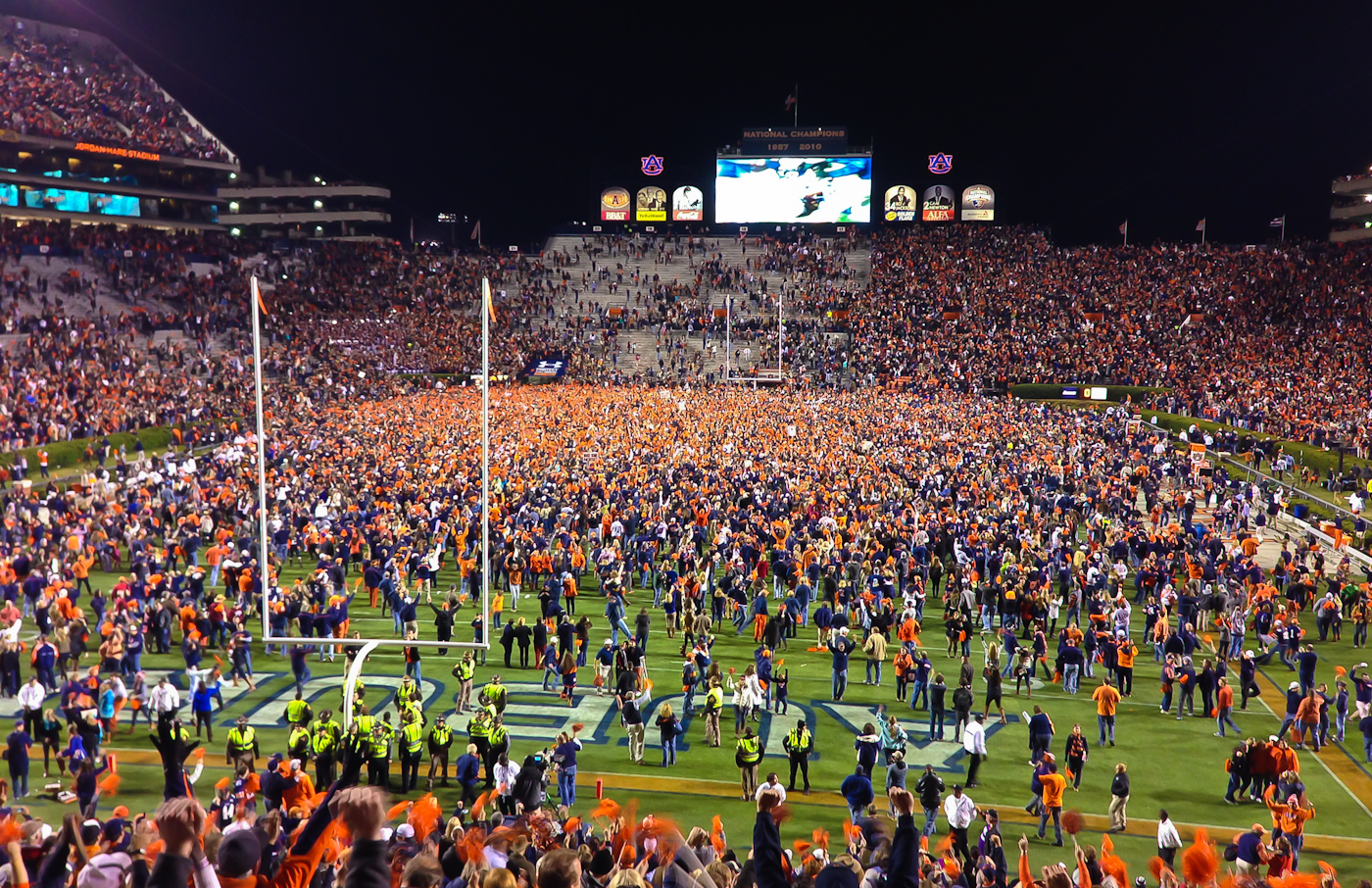 Auburn Wins the 2013 IronBowl