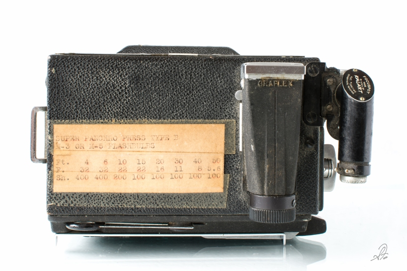 Graflex Speed Graphic with 135mm f/4.7 Lens