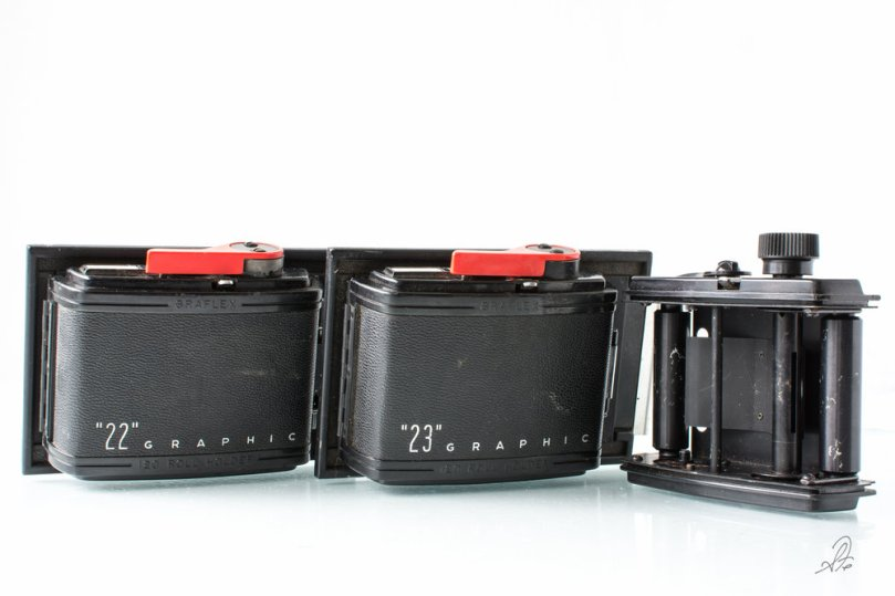 Graflex Speed Graphic 220 Film Rollers