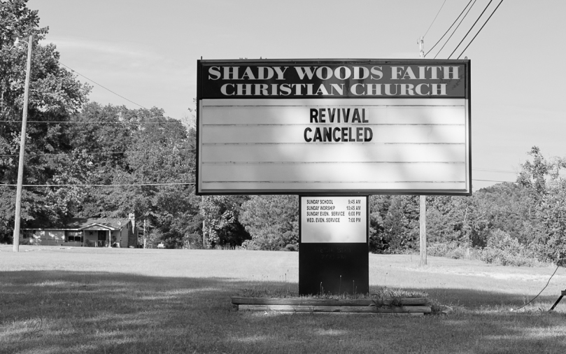 Church Sign Cancels Revival