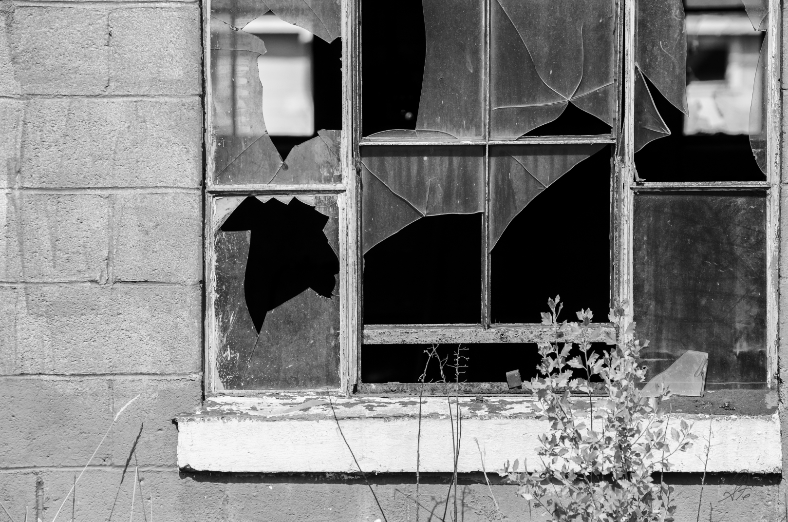 Broken Windows to Darkness
