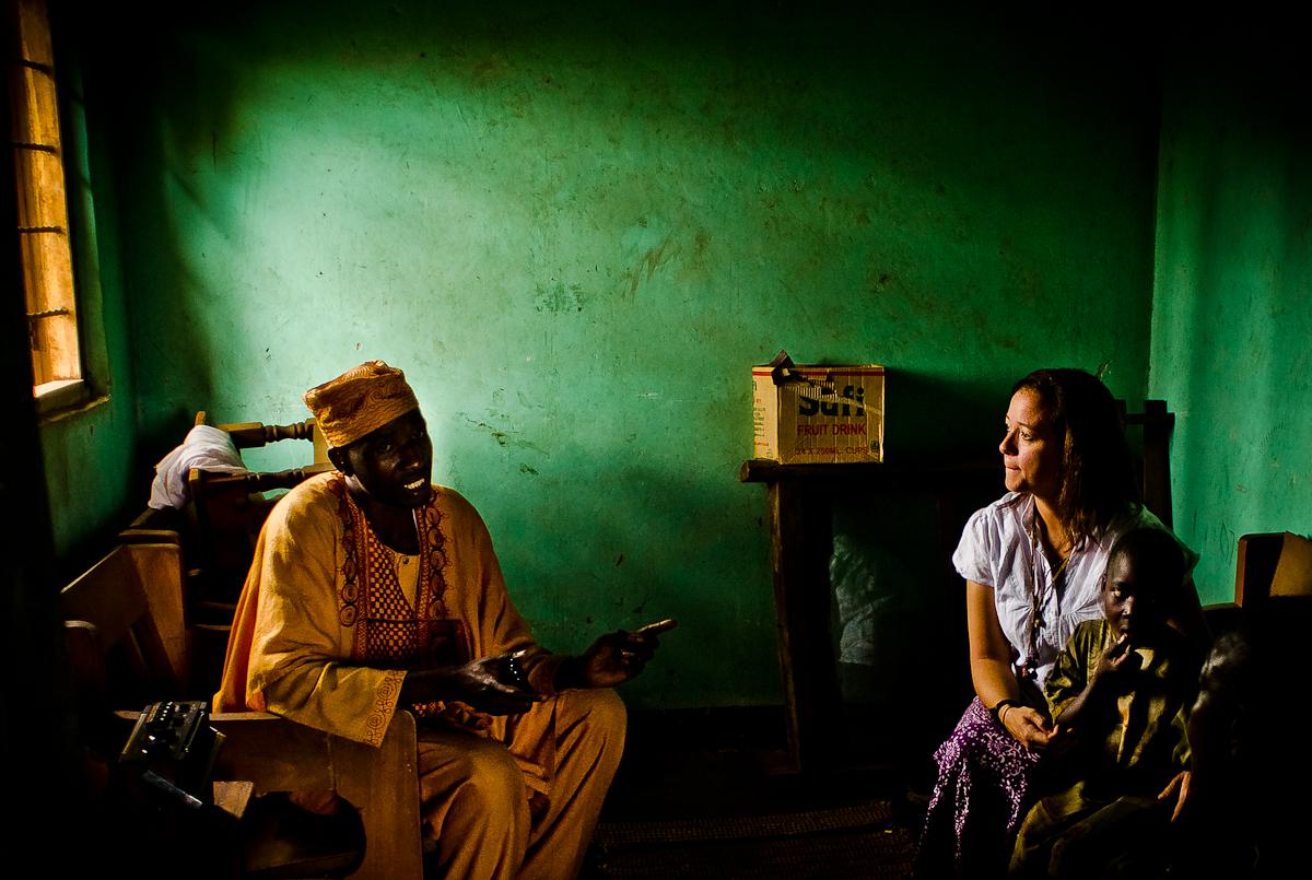Home Visit and Prayer in Uganda