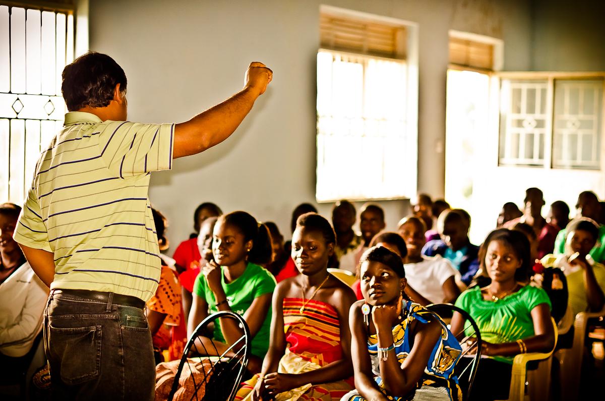 Teaching High School Kids in Uganda