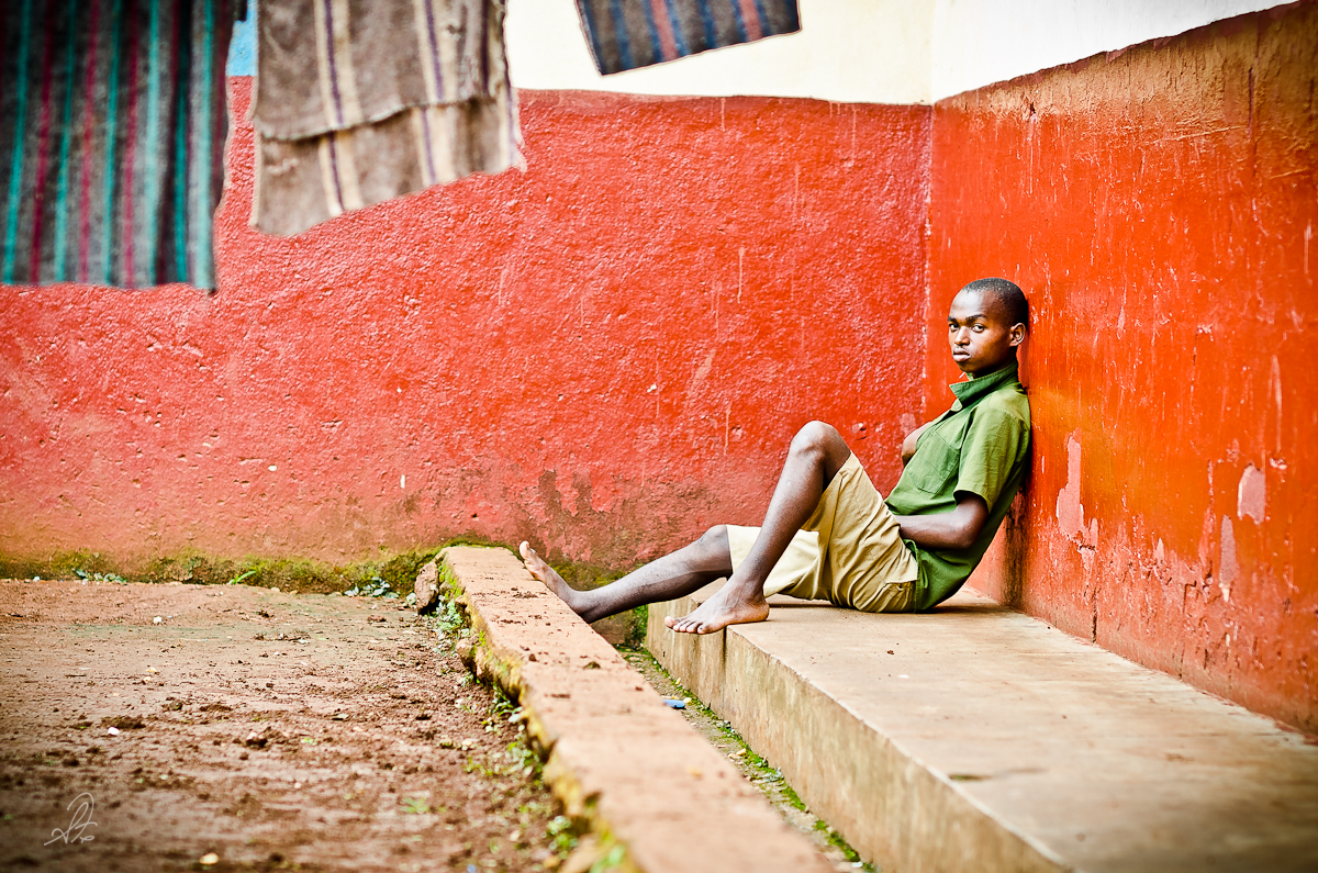 Uganda Boy in Detention Center