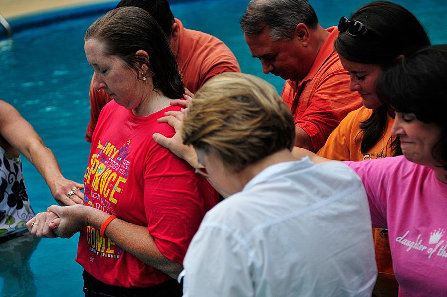 Cindy Wall Baptism