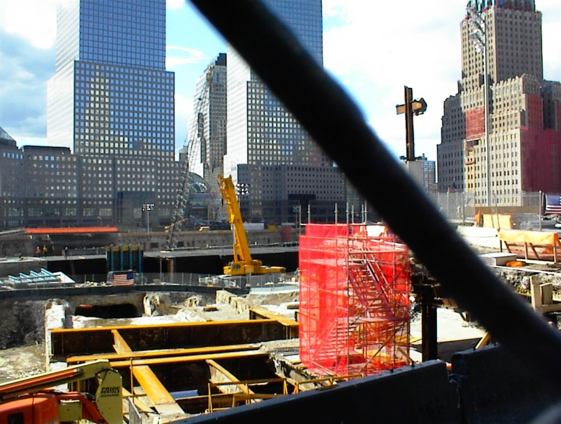 The Cross in Aftermath of Ground Zero after 911