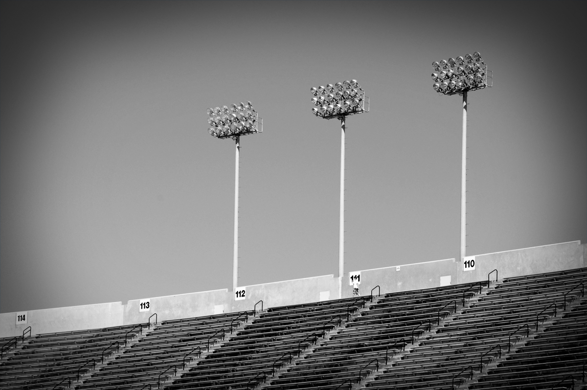 An Empty Jordan Hare Stadium