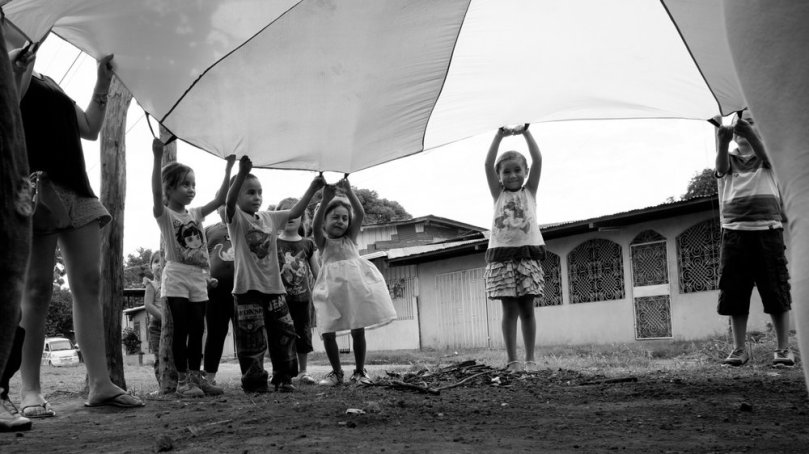 Kids Playing in Nicaragua