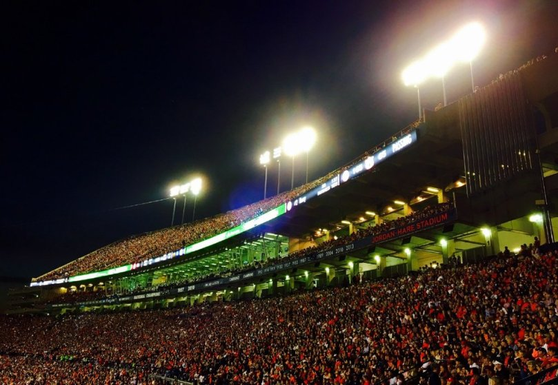 Jordan-Hare Stadium November 28 2015, Shot on the iPhone 6