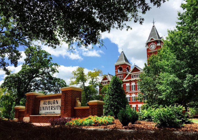 Auburn University Iconic Samford Hall