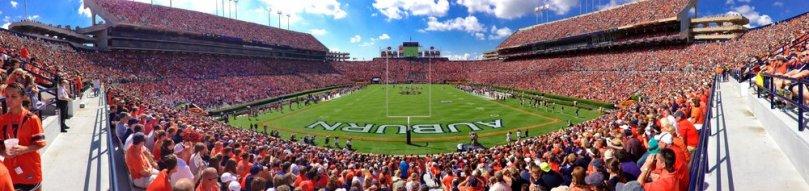 Jordan Hare Stadium in Auburn